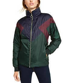 Colorblocked Reversible Jacket