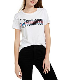 Juniors' Pochacco Graphic-Print T-Shirt