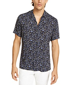 INC Men's Floral Ditsy-Print Camp Shirt, Created for Macy's