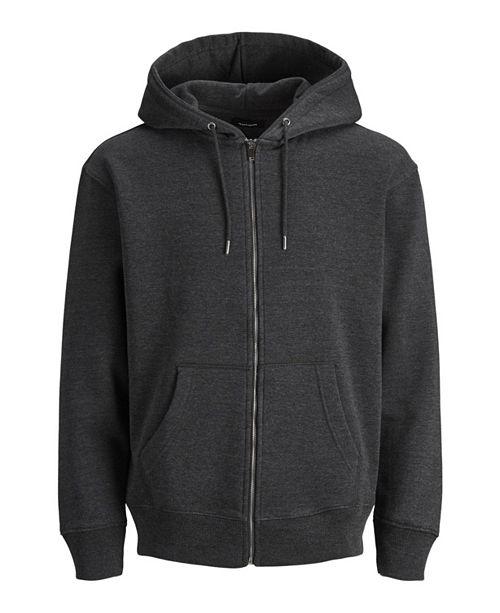 Jack & Jones Men's Sweat Long Sleeve Full-Zip Hoodie
