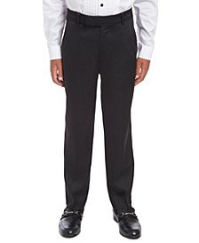 Big Boys Slim-Fit Stretch Satin Dress Pants