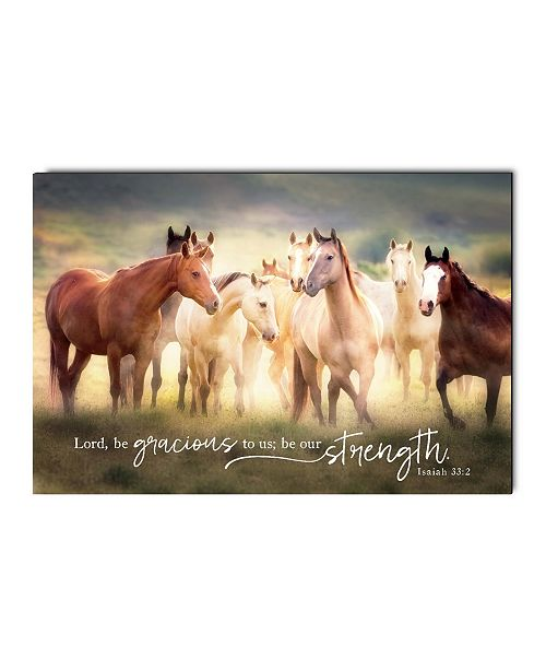 P Graham Dunn Be Our Strength Every Morning Wall Art