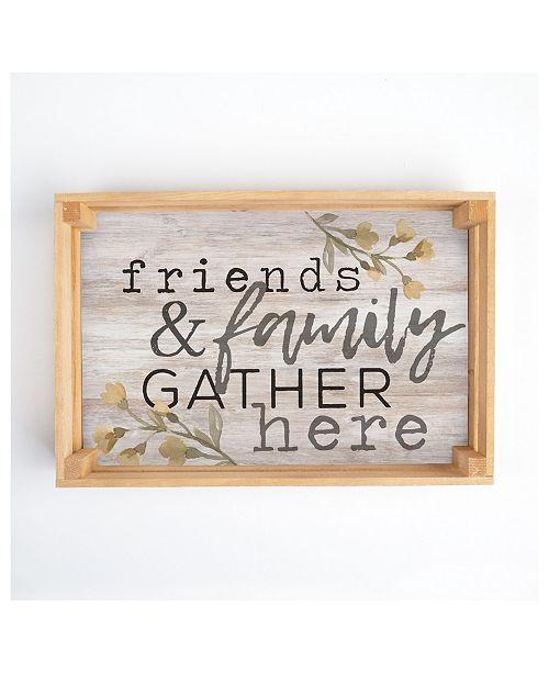 P Graham Dunn Friends & Family Gather Here Wall Art