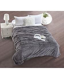 Shaggy Chic Throw Blanket