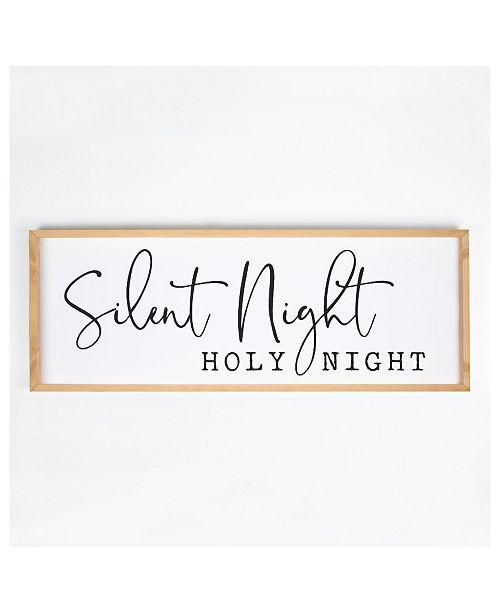 P Graham Dunn Silent Night Holy Night Wall Art