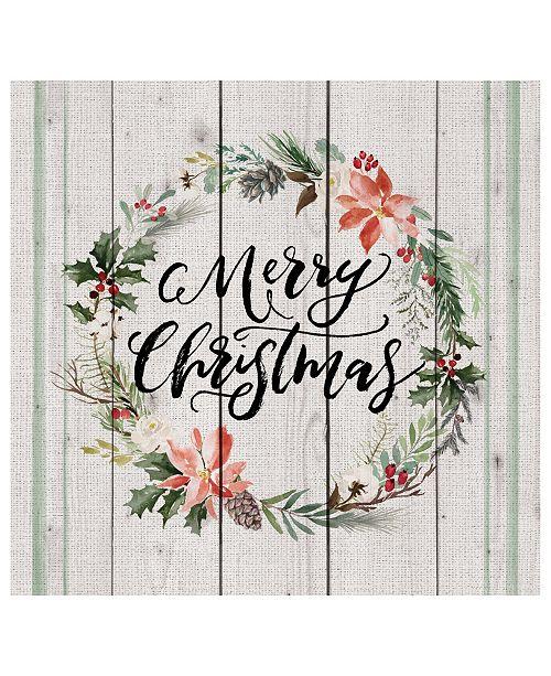 P Graham Dunn Merry Christmas Wall Art