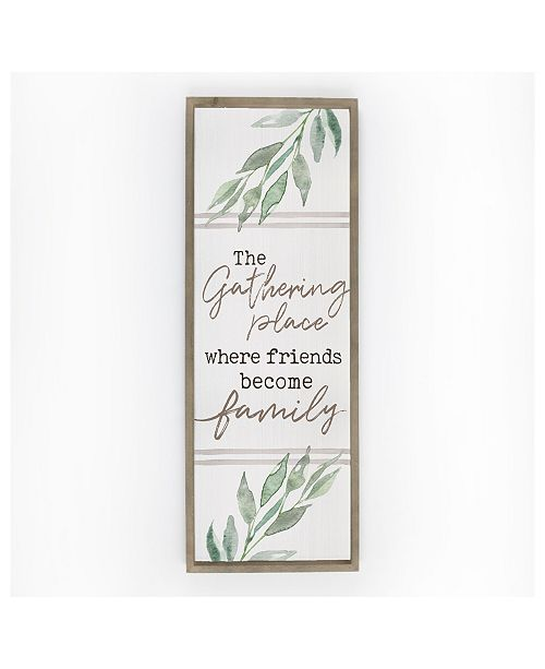 P Graham Dunn The Gathering Place Where Friends Become Family Wall Art