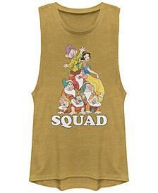 Juniors' Princesses Squad Dwarfs Festival Muscle Tank Top