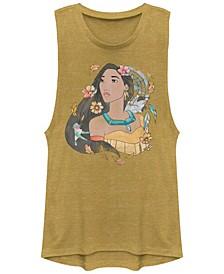Disney Juniors' Princesses Pocahontas Dreamcatcher Sketch Festival Muscle Tank Top