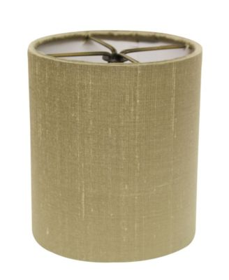 Slant Fancy Square Softback Lampshade with Bulb Clip