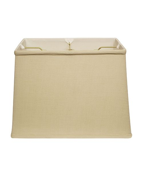 Cloth&Wire Slant Retro Rectangle Softback Lampshade with Washer Fitter