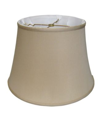 Slant Euro Bell Softback Lampshade with Washer Fitter