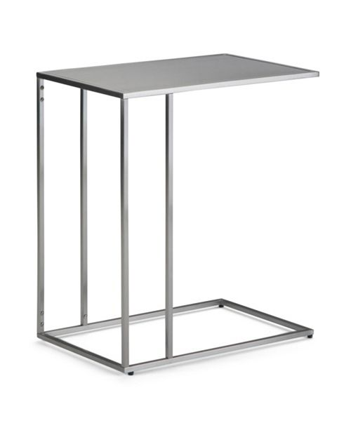 Simpli Home Sloan C Side Table, Quick Ship