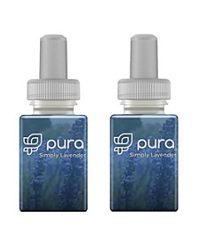 Fragrance Refill Set of 2 Simply Lavender