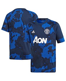 Big Boys Manchester United Club Team Pre Match Shirt