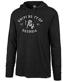 Men's Georgia Bulldogs Knockaround Club Long Sleeve Hooded T-Shirt