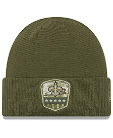 New Orleans Saints On-Field Salute To Service Cuff Knit Hat