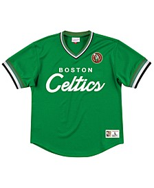Men's Boston Celtics Special Script Mesh V-Neck Jersey