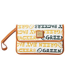 Green Bay Packers Doodle Milly Wristlet