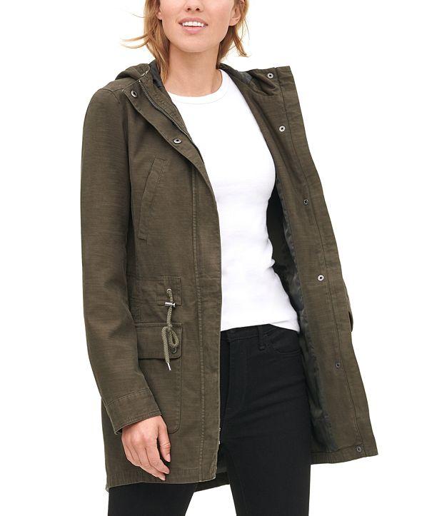 Levi's Women's Cotton Hooded Fishtail Parka Jacket
