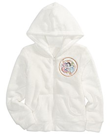 Little Girls Celestial Princess Zip Woobie Hoodie