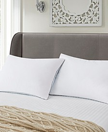 ELLE DÉCOR Summer-Winter White Goose Feather Pillow 2-Pack Jumbo