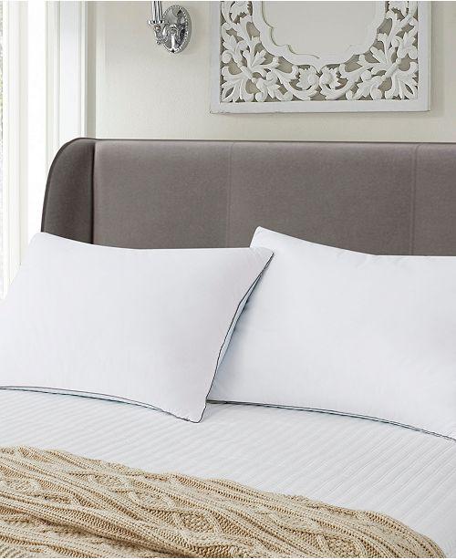 Elle Decor Summer Winter White Goose Feather Pillow 2 Pack Jumbo
