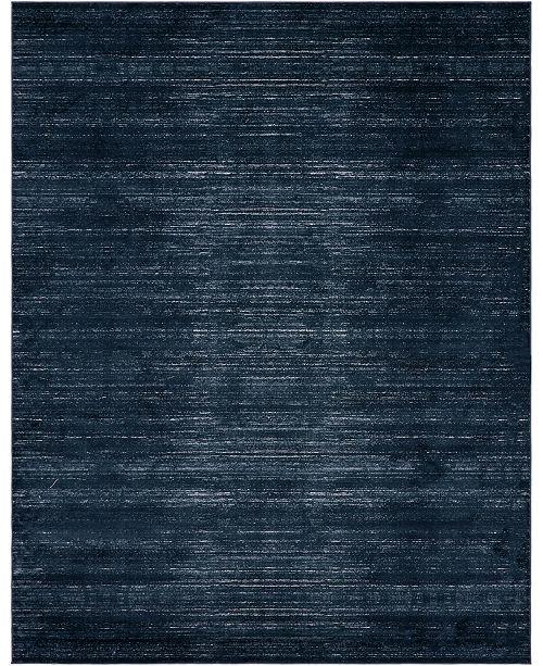 Jill Zarin Madison Avenue Uptown Jzu001 Navy Blue 8' x 10' Area Rug