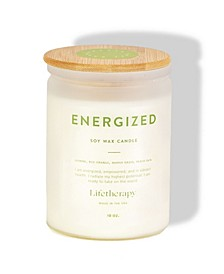 Energized 75hr Burn Time Soy Candle
