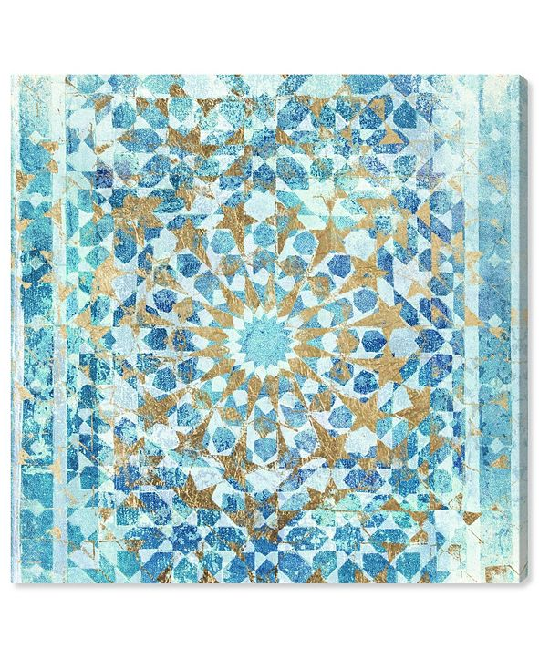 "Oliver Gal Incense Mandala Canvas Art, 12"" x 12"""