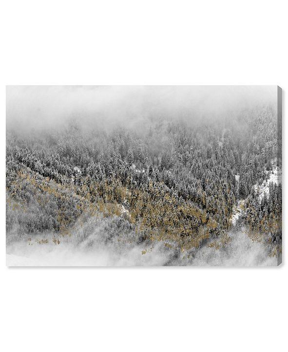 "Oliver Gal Overhead Golden Forest Canvas Art, 36"" x 24"""