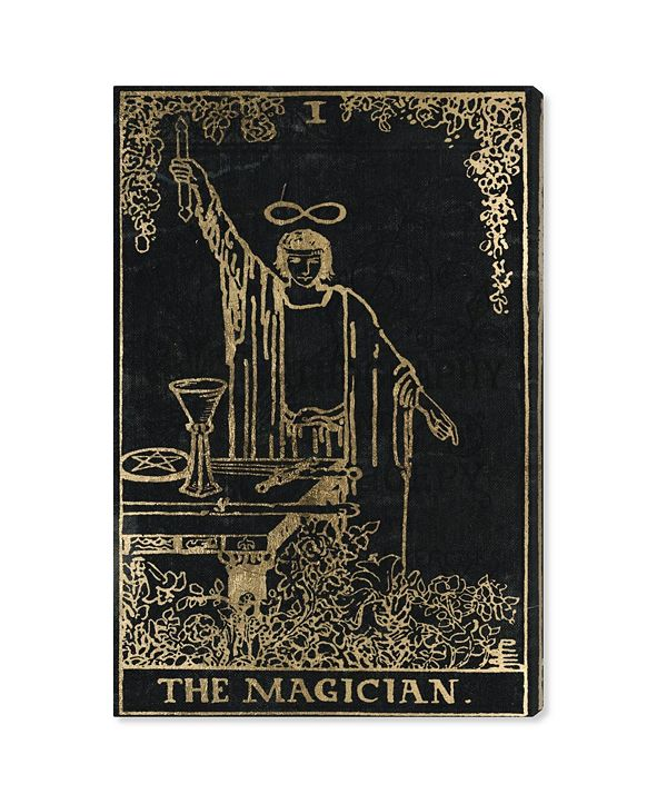 "Oliver Gal The Magician Tarot Canvas Art, 24"" x 36"""