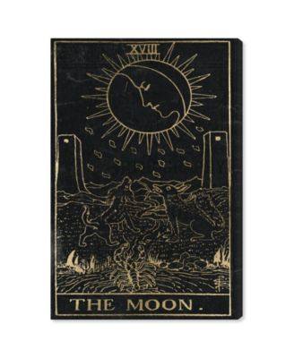 The Moon Tarot Canvas Art, 24
