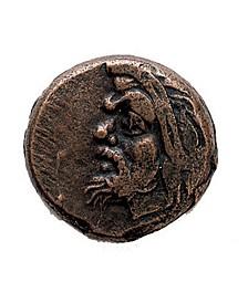 Ancient Greek Bronze Devil Coin
