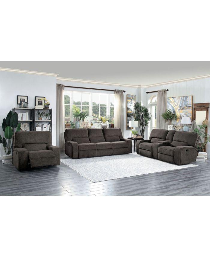 Furniture Elevated Recliner Sofa & Reviews - Furniture - Macy's
