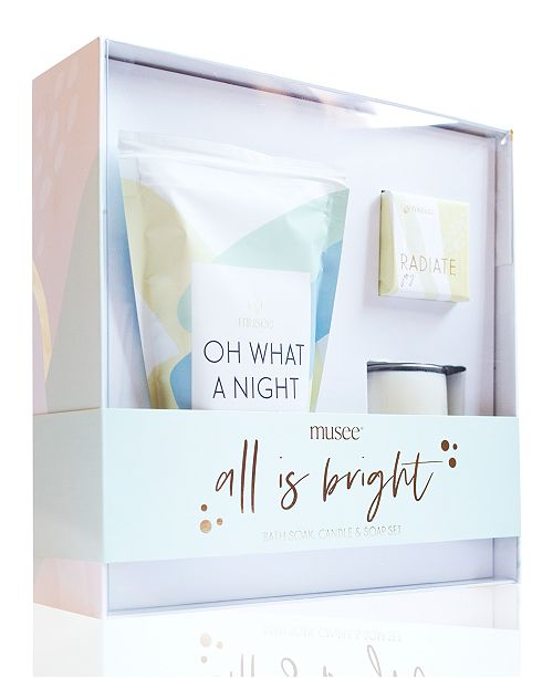 Musee 3-Pc. All Is Bright Gift Set