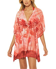 Printed Caftan Cover-Up
