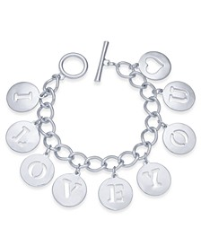 I LOVE YOU Charm Bracelet, Created For Macy's