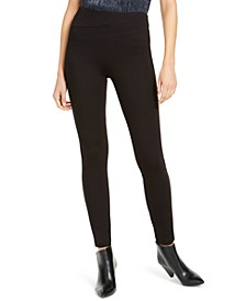 INC Wavy-Waistband Skinny Pants, Created For Macy's