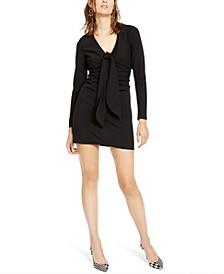 INC Drape-Front Sheath Dress, Created For Macy's