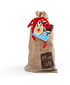 8 Piece Assorted Holiday Burlap