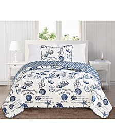 Great Bay Home Catalina Collection Coastal Quilt Set