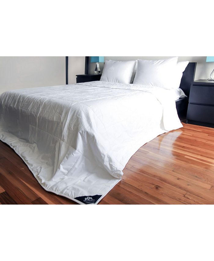 Triumph Hill - Mulberry Silk Heavy Weight Jacquard Cotton Casing  Bed Comforter