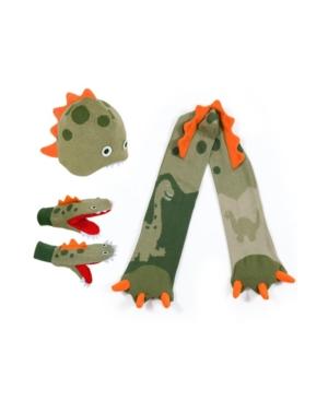 Kidorable Big Boy Dinosaur Knitwear Set