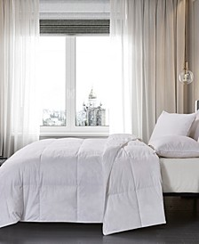 233 Thread Count Cotton White Down King Comforter