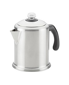 Stainless Steel 8-Cup Coffee Percolator
