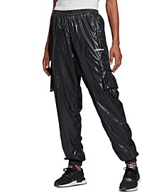 Women's Shiny Cargo Pants