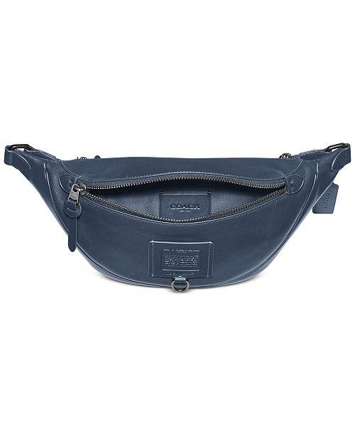 COACH Men's Rivington Leather Belt Bag