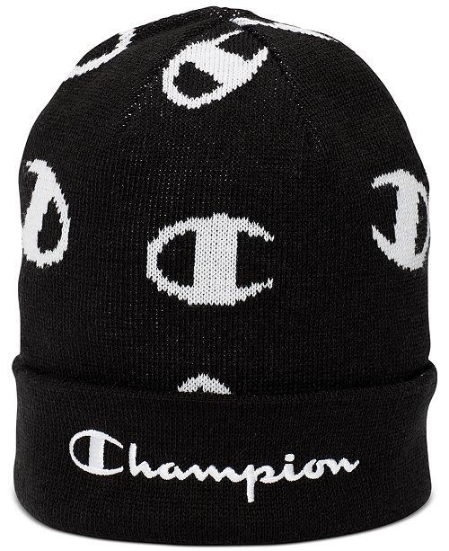 Champion Men's Logo Beanie