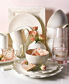 by Laura Johnson Blush Dinnerware Collection